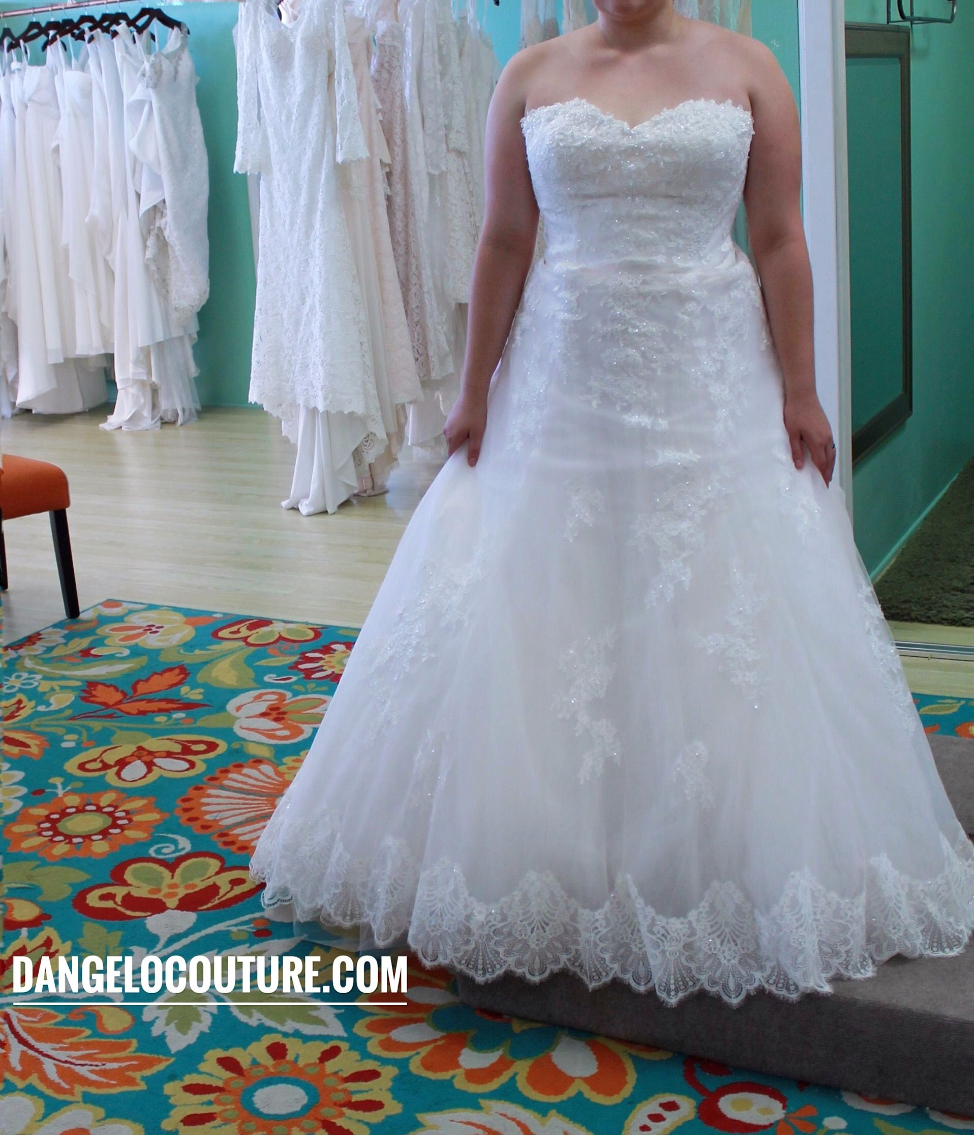 Wedding Dress at D\'Angelo Couture Bridal in San Diego, California ...