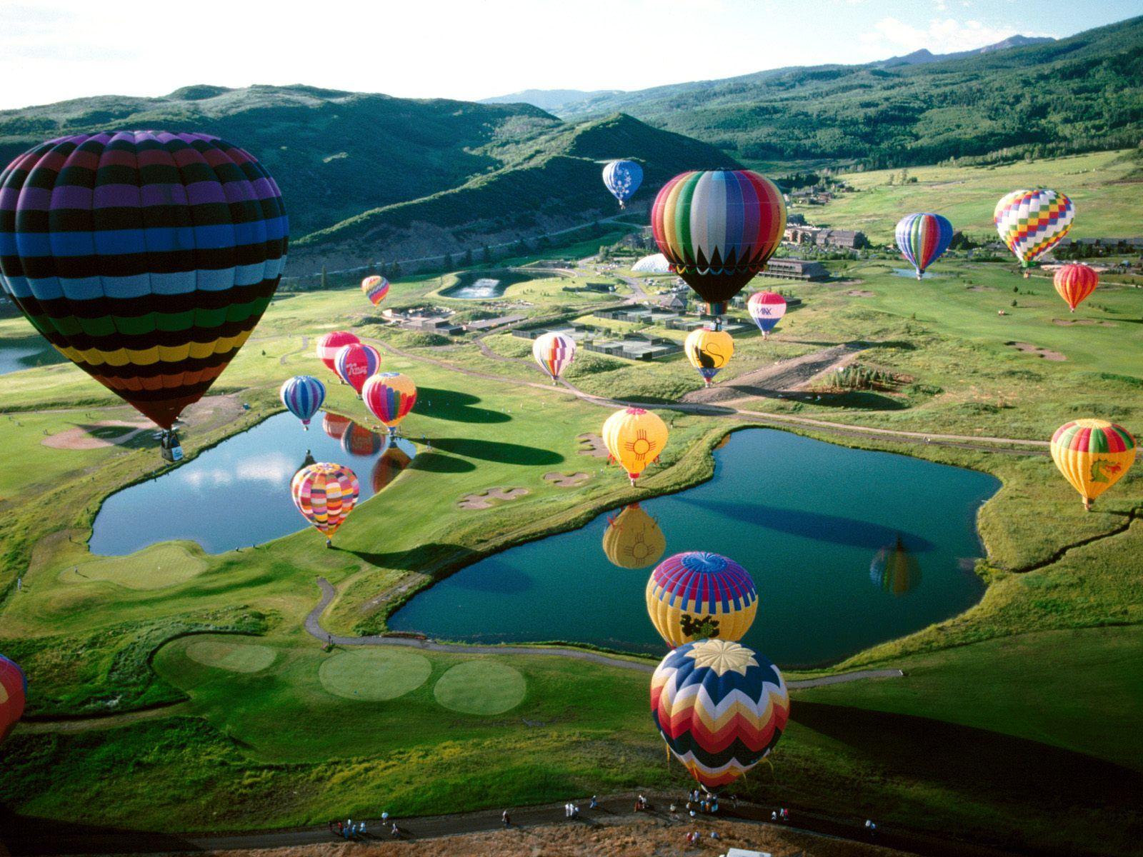 Millionaire Date Idea #5: Hot Air Balloon Ride