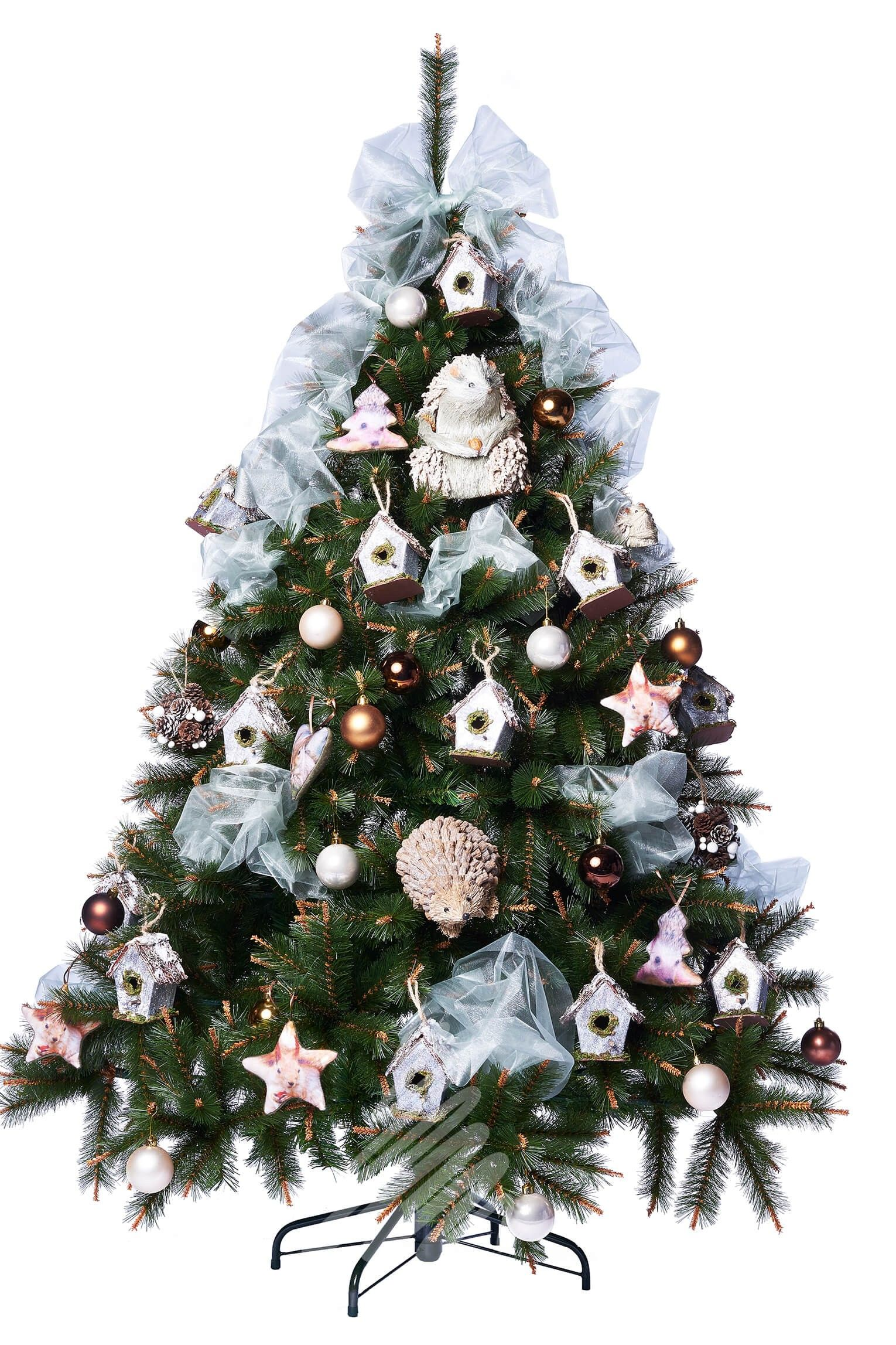 Pistil Pine Decorated 6ft Artificial Christmas Tree | All Around ...