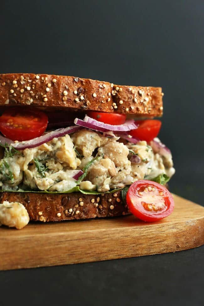 10 Vegan Sandwich Recipes That Are Perfect for Lunch on ...