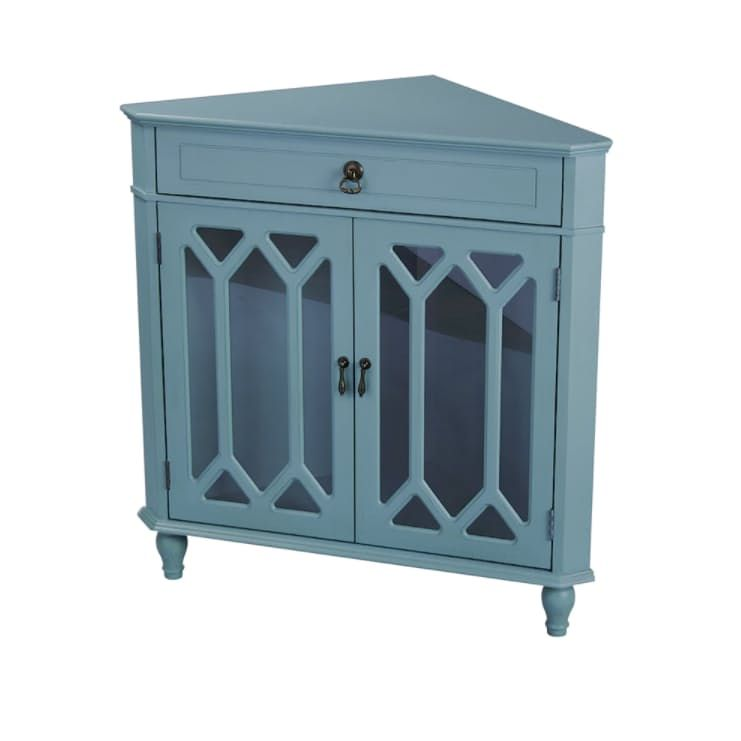 Use Every Inch 12 Of The Best Corner Tables Accent Cabinet Corner Cabinet Corner Accent Table