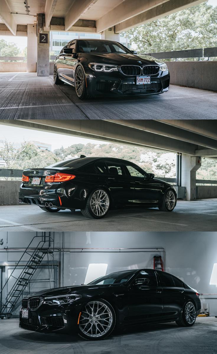 Elegant And Upscale Bmw 5 Series Boasting Custom Anrky Wheels In 2020 Bmw 5 Series Bmw Custom Wheels