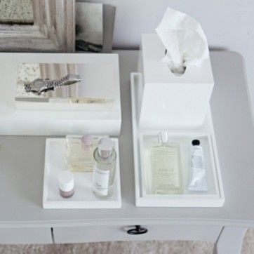 info for 10d1f 12aea The White Company Lacquer dressing table trays - set of 3 ...