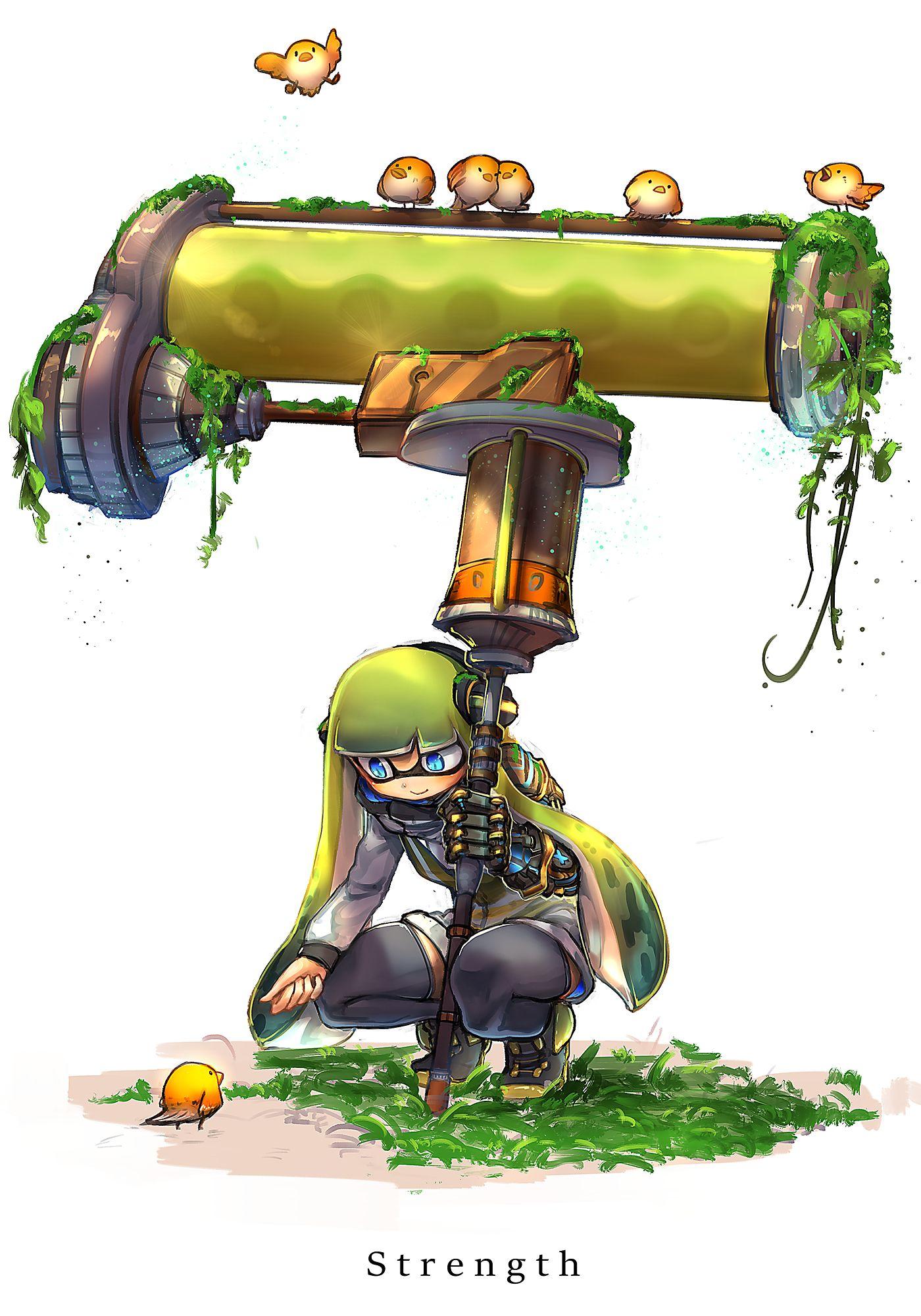 Inkling Splatoon Image 2053474 Zerochan Anime Image Board