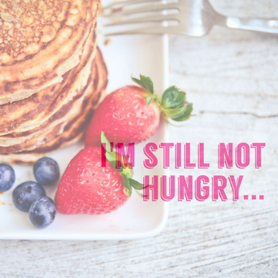 How protein pancakes changed the way I approached my nutrition, and my ideas about food.  #hangry no more!