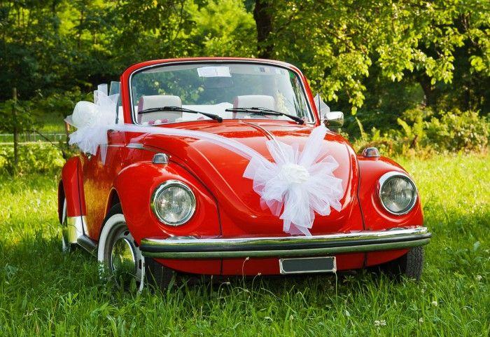 Deko fr Hochzeitsauto in 2019  wedding cars  Hochzeit