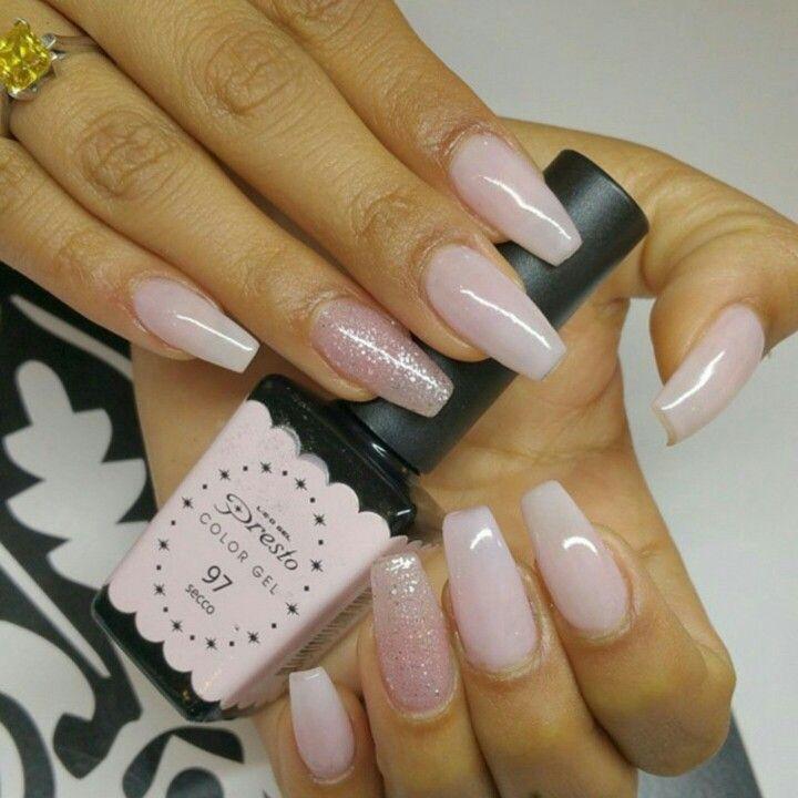 nails idea-natural pink