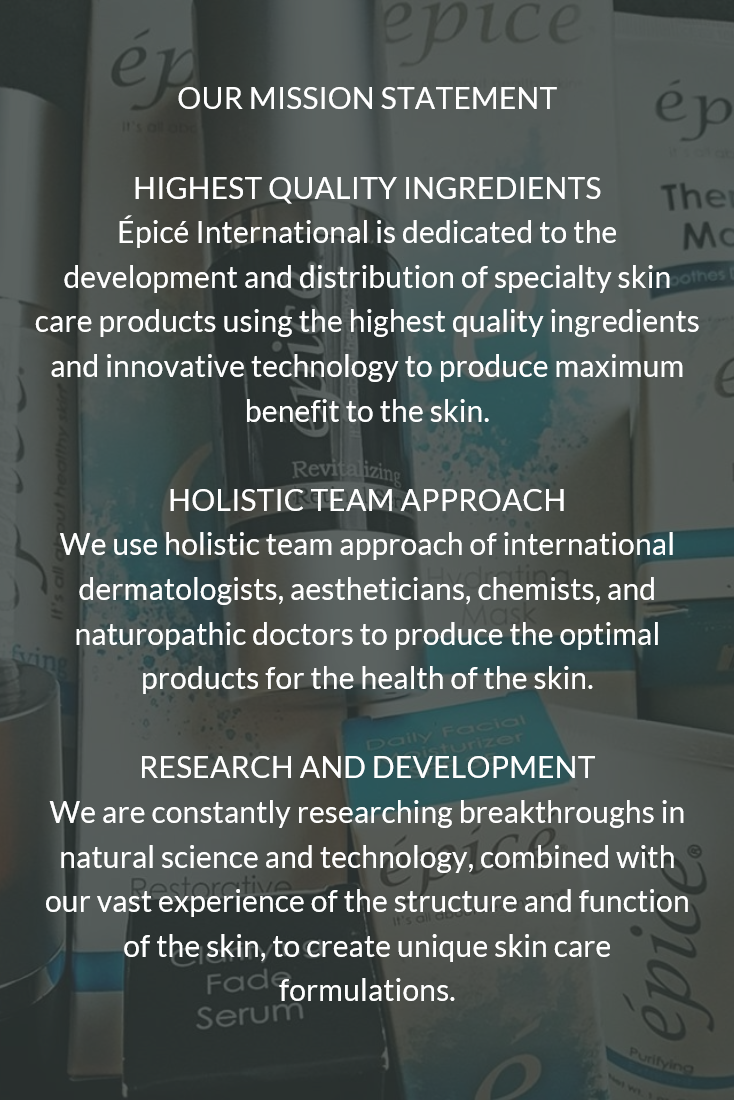 Our Mission Statement Epiceskincare Superiorskincareproducts Healthyskincareproducts Dermatologistdeve Healthy Skin Care Skin Care High Quality Ingredients