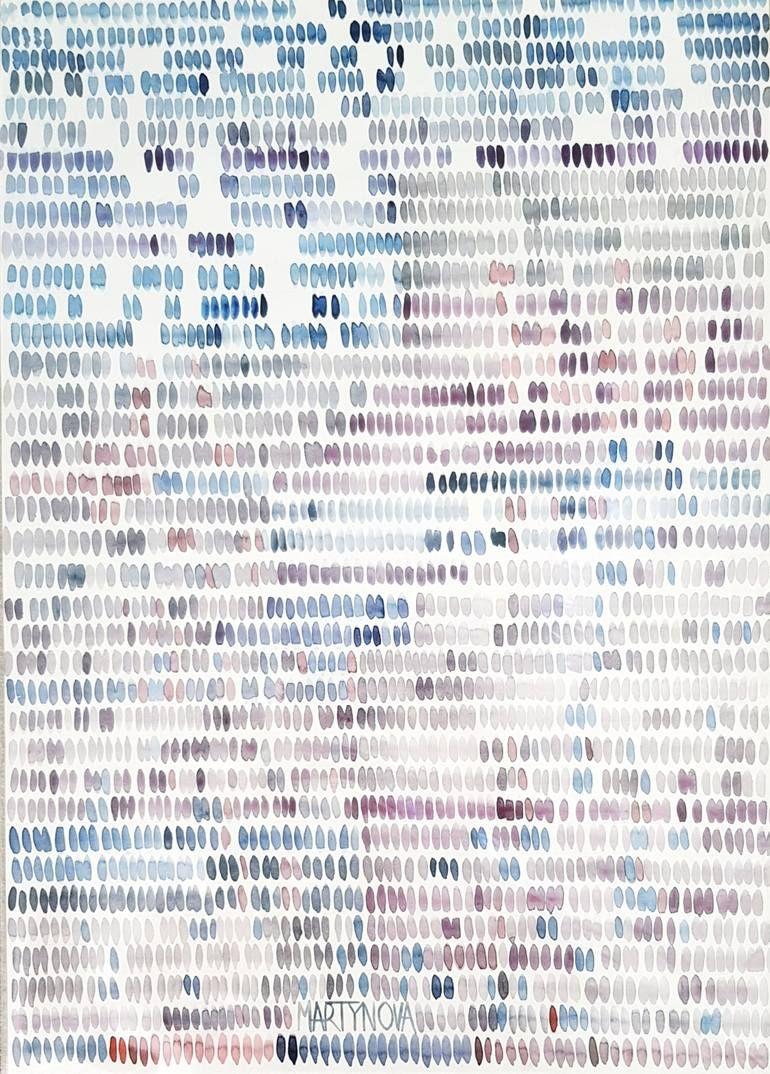 Saatchi Art Artist Yuliya Martynova Painting Colour Code