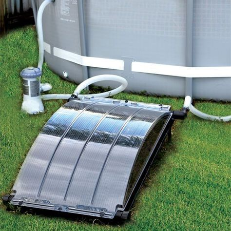 My Review Of The Solar Arc Solar Pool Heater Swimming Pool Solar Heating Above Ground Pool Landscaping Solar Pool