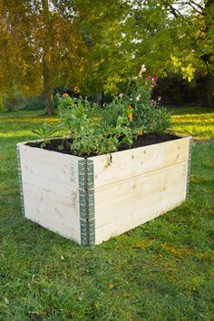 Hochbeet Aufsetzrahmen Hochbeet Jardines Vallas Und Diy