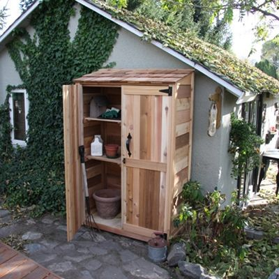 Charmant Attatch Prefab Wood Small Garden Shed 2 X 4 To The Larger Garden Studio