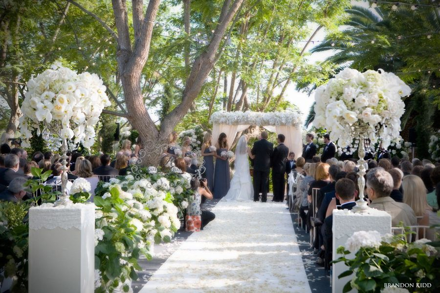 Vintage Wedding Of Shawn And Zack In Rancho Santa Fe: Simply Stunning Wedding Ceremonies » The Bridal Detective