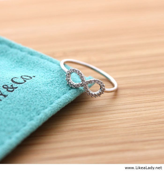 Infinity ring from Tiffany & Co Tiffany & CO Pinterest