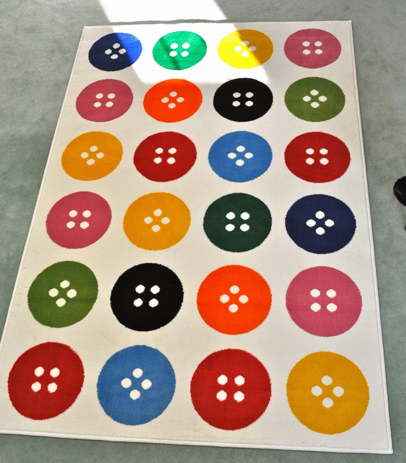Rug For Little Boys Room: Button Rug From Ikea! Buying Tomorrow For My Craft Room In