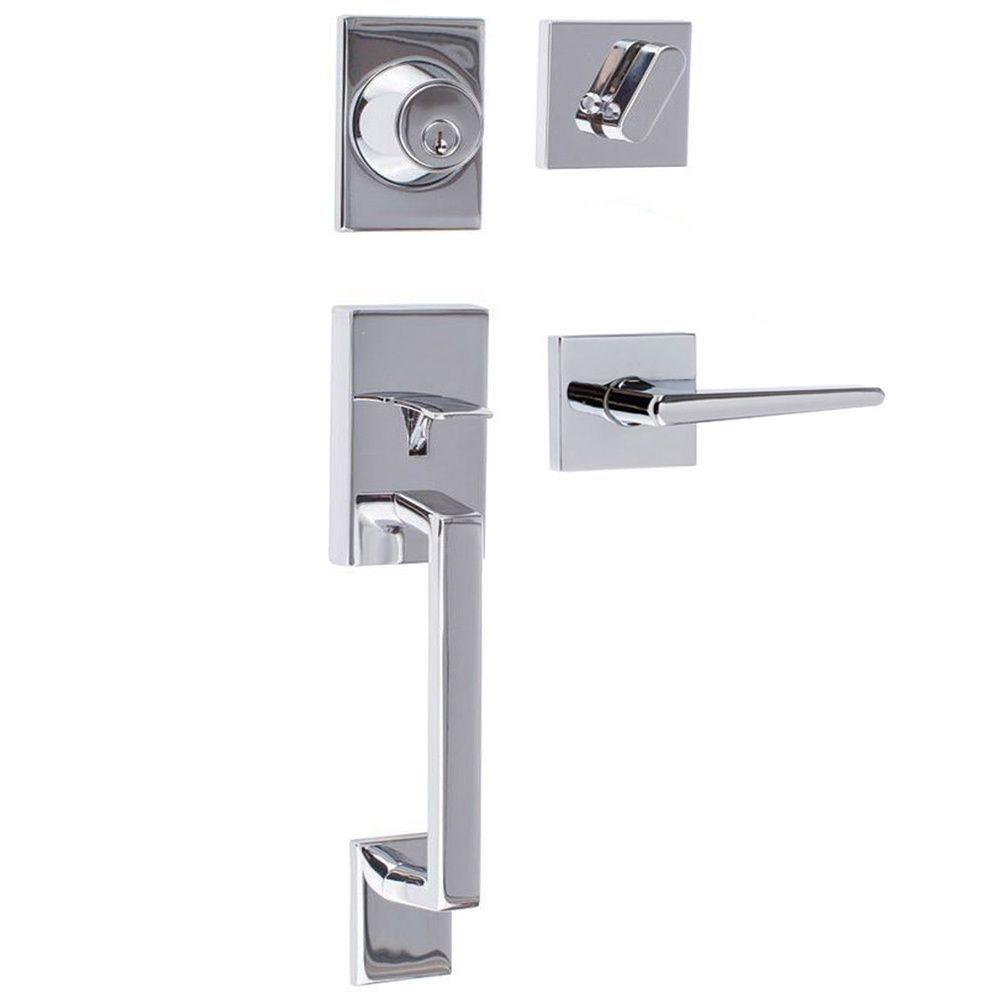 Sure-Loc Modern Front Entrance Handle Set (Koln Handleset in ...