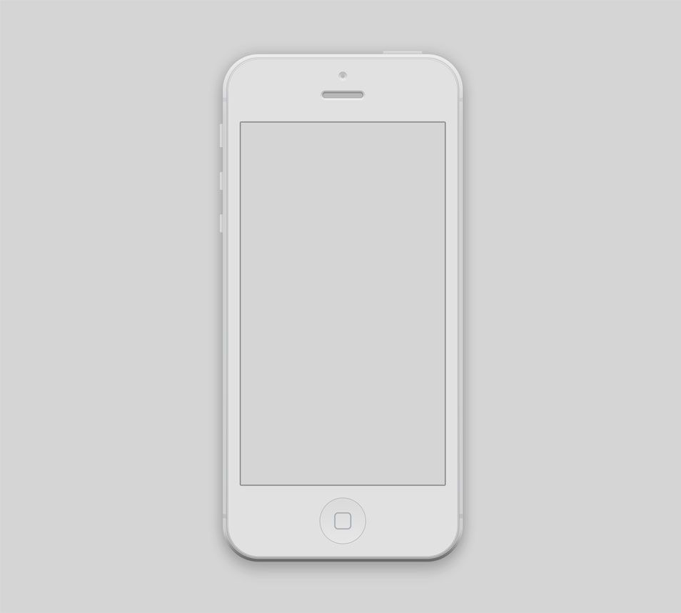 iPhone 5 Mockup PSD | Afins | Pinterest | Mockup and Template