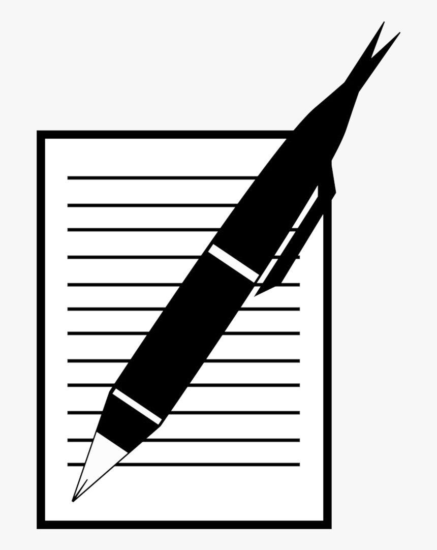 Paper And Pen Clipart Free Clip Art Free Clip Art Paper Clip Art