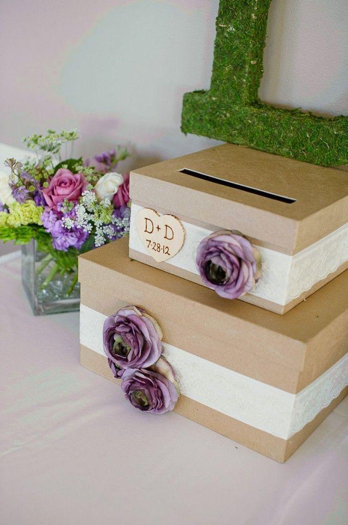 card box diy with images  wedding time wedding display