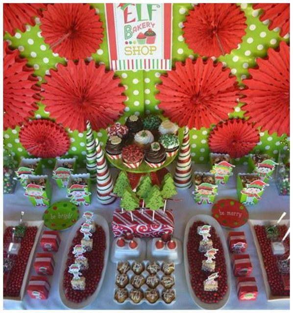 Fun Christmas Theme Party Ideas Part - 24: Elf - Cookies Decorating Party Christmas/Holiday Party Ideas