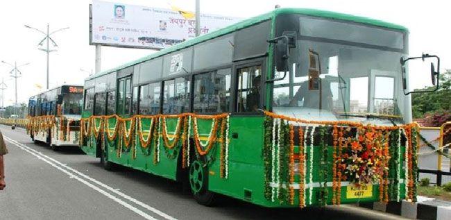 Jaipur Bus , Low floor Bus in Jaipur, Low Floor Bus Route Maps , Jaipur