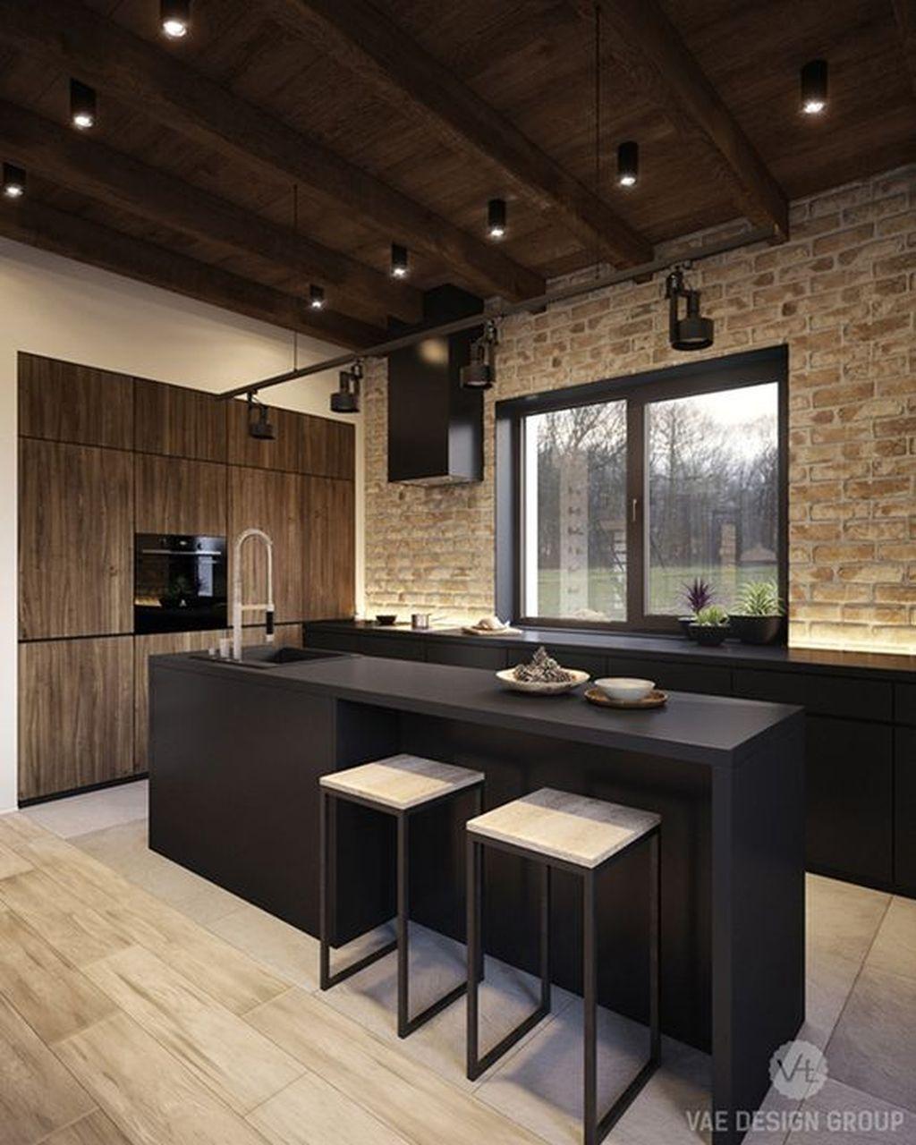 32 Best Black And White Wood Kitchen Design Ideas Ohhomedecor