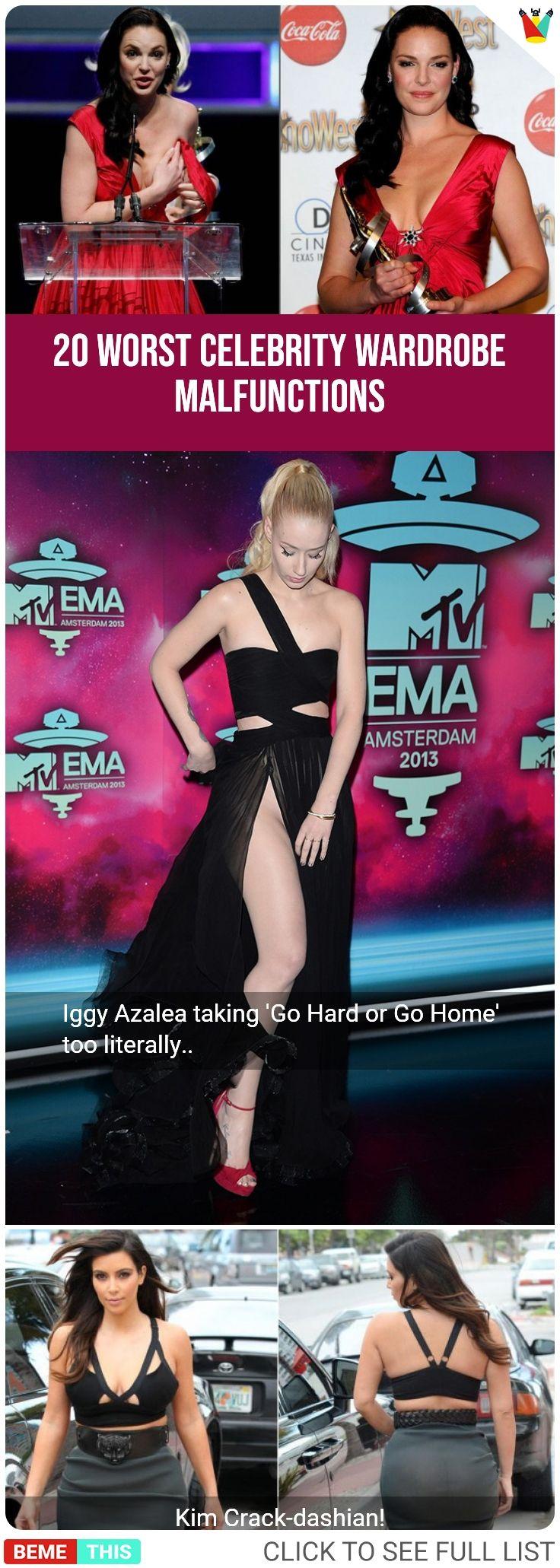Worst Celebrity Wardrobe Malfunctions of 2015 - Nicki ...