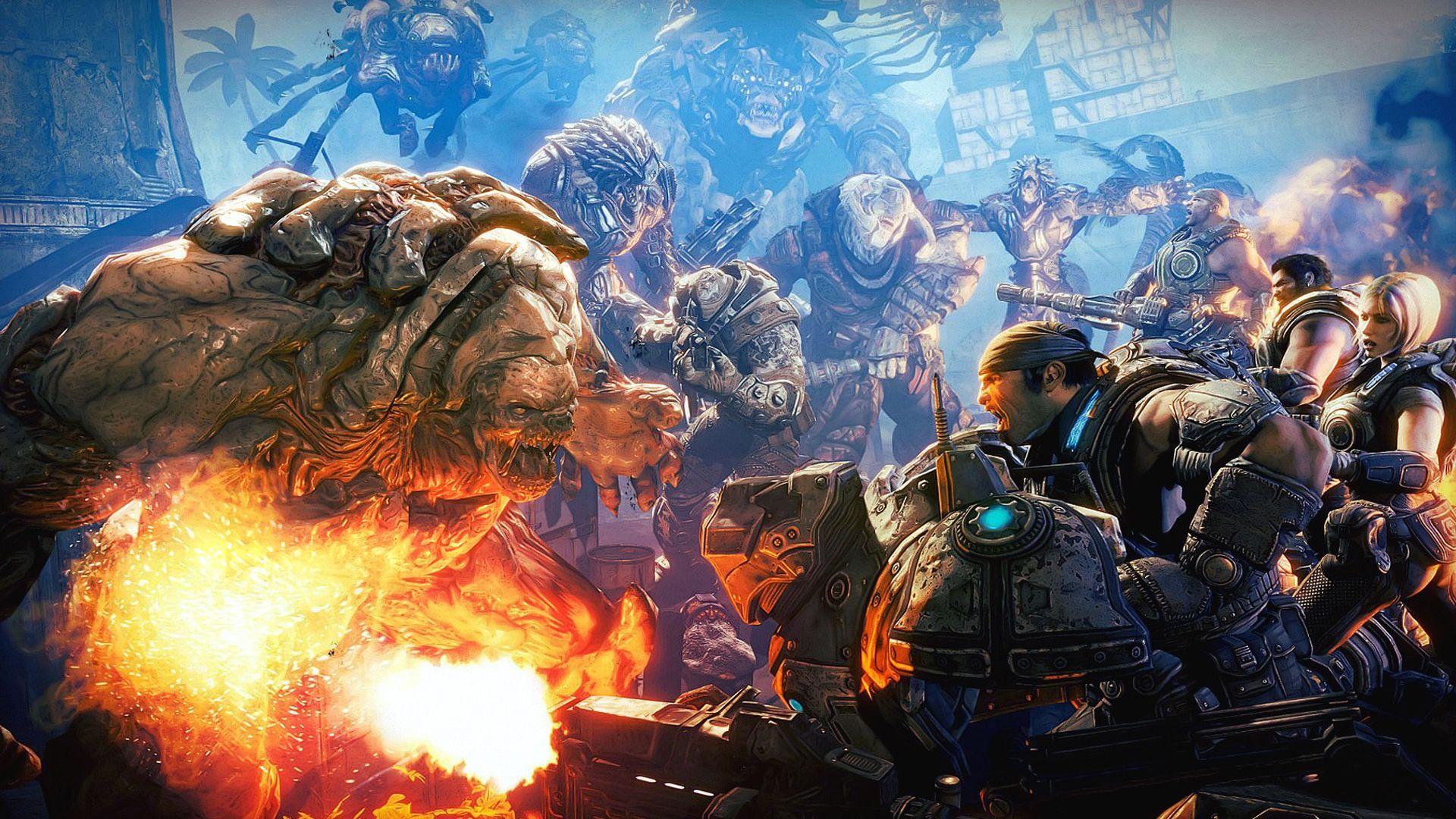 Descargarfondosdepantalla On Twitter Gears Of War Gears Of War 3 Gears