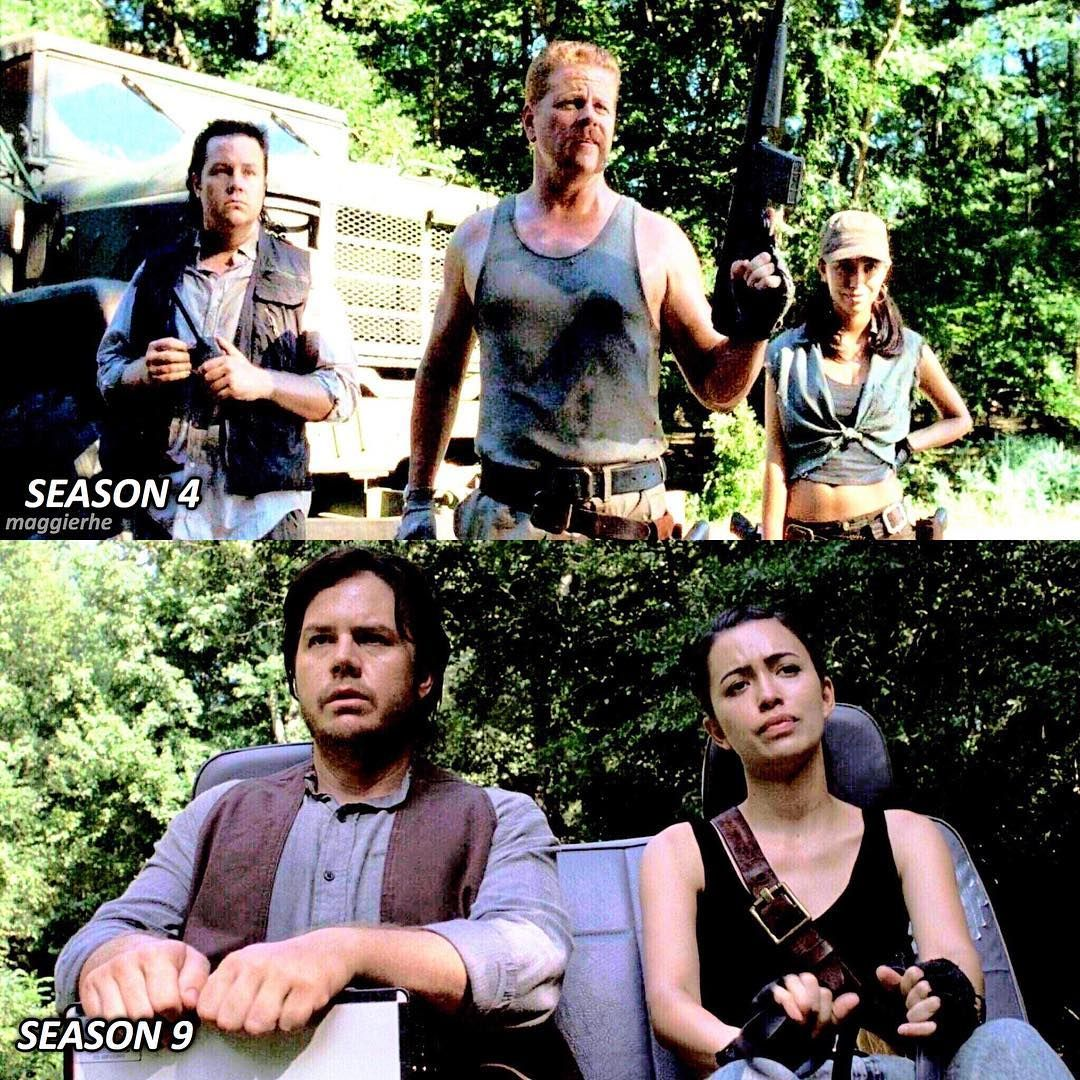 Mostly Tw Twd On Instagram Eugene And Rosita Have Come A