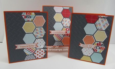 Fun with Hexagons - buy it in a bundle, save 15% www.shoppingwithbarb.com