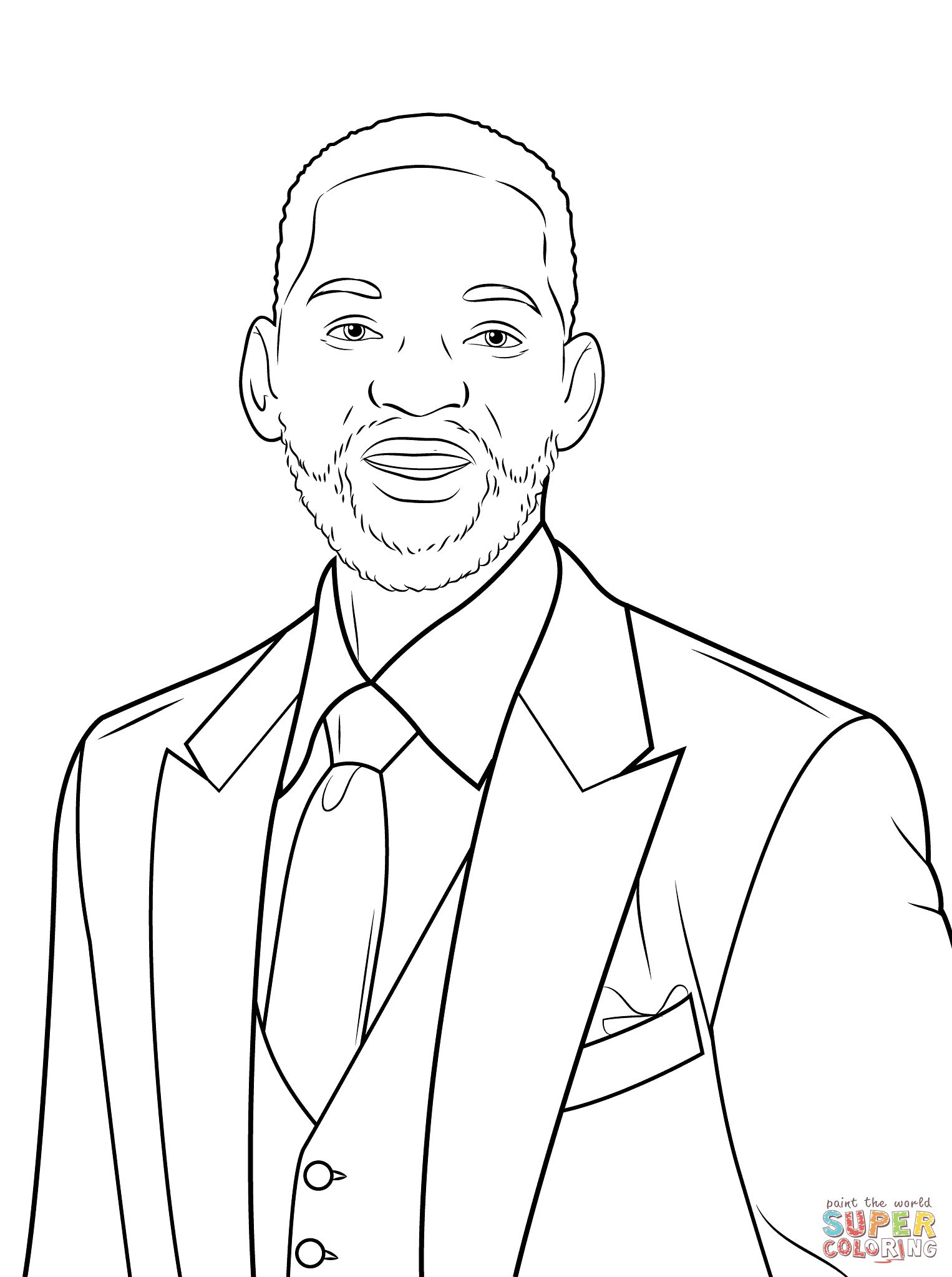 Will Smith Coloring Pages