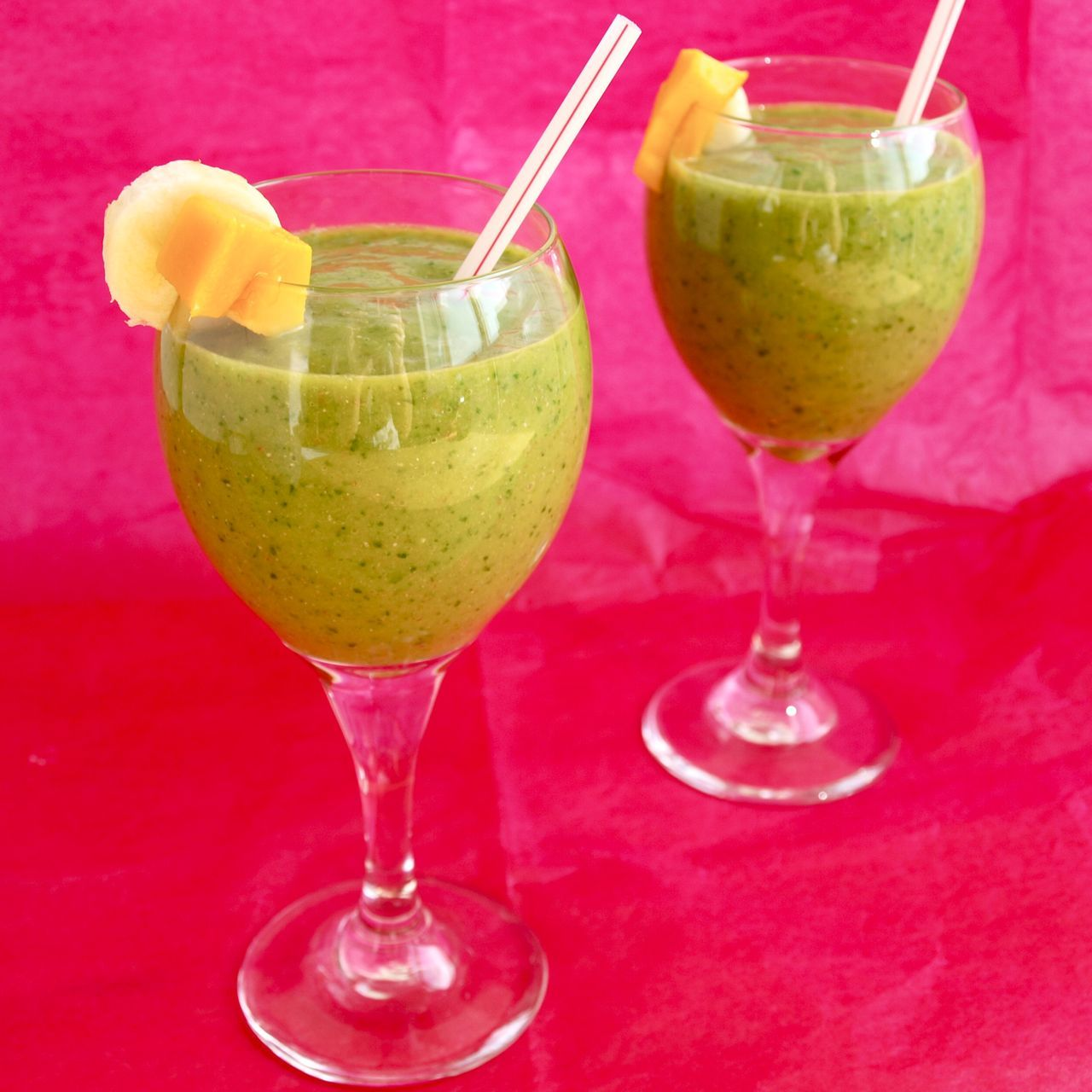 The green smoothie that doesn't taste green