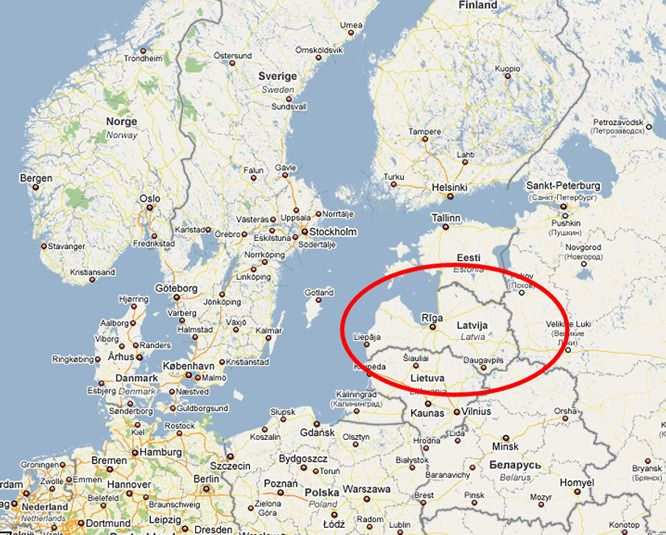 latvia latvia is located in north eastern europe on the baltic sea