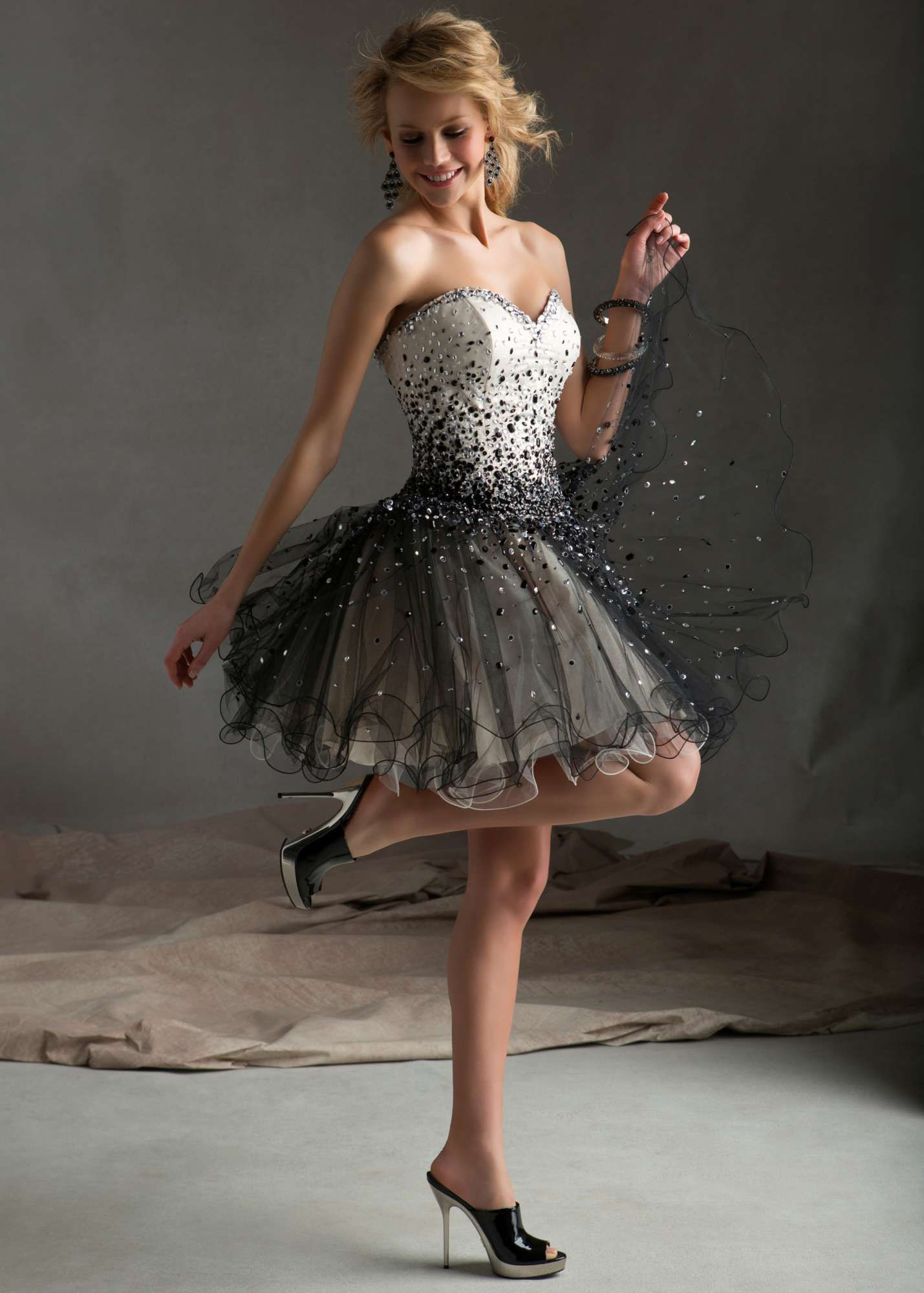 Sticks u stones by mori lee elegant cocktail dress dresses