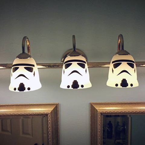 Image result for star wars theme bathroom | Man Cave (garage ...