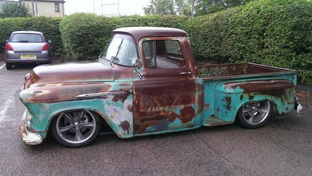Pin by Mark Richards on RAT RODS plus Rust Buckets | 55