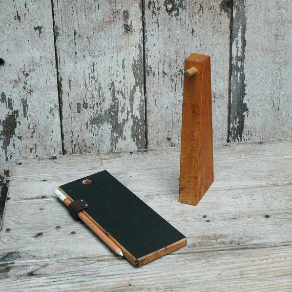 Tafeltablette Und Stand Von Pegandawl Auf Etsy 39 00 Chalkboard Wooden Diy Tablet Stand