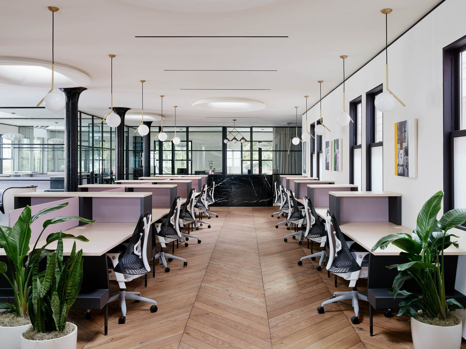 Office tour canopy coworking space san francisco recent offices office interior design - Interior design office space ...