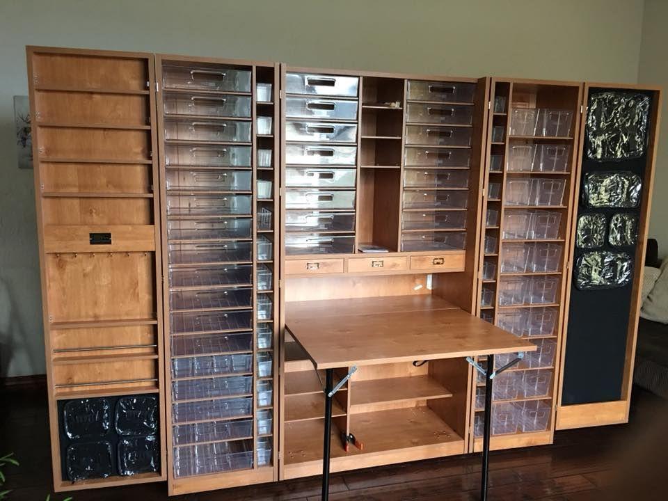 Storage Solutions For Craft Rooms: Craft Room Closet, Craft