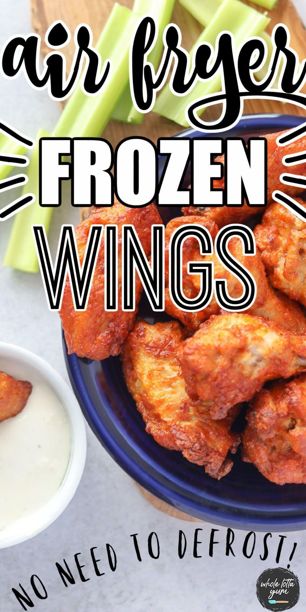 Air fryer chicken wings frozen in 2021 frozen chicken