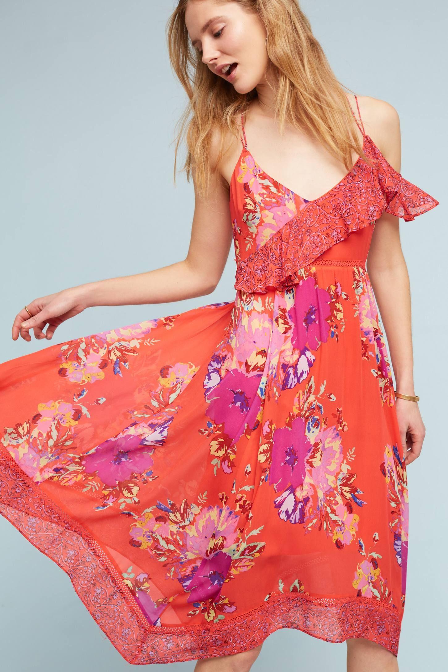 Grecia Ruffle Dress | I\'ll Wear This & That | Pinterest