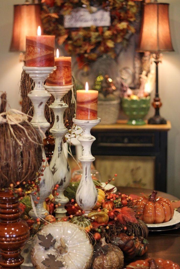 fall farmhouse candle mainstays