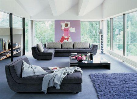 Contemporary living room design. http://www.freshinterior.me/successful-living-room-design/