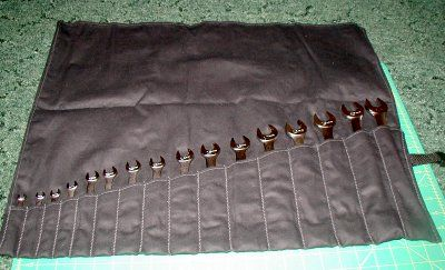 Homemade Tool Roll-Up #homemadetools