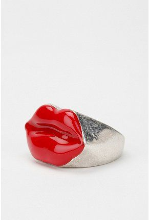 Glossy Lips Ring Glossy Lips White Elephant Gifts Red Lips