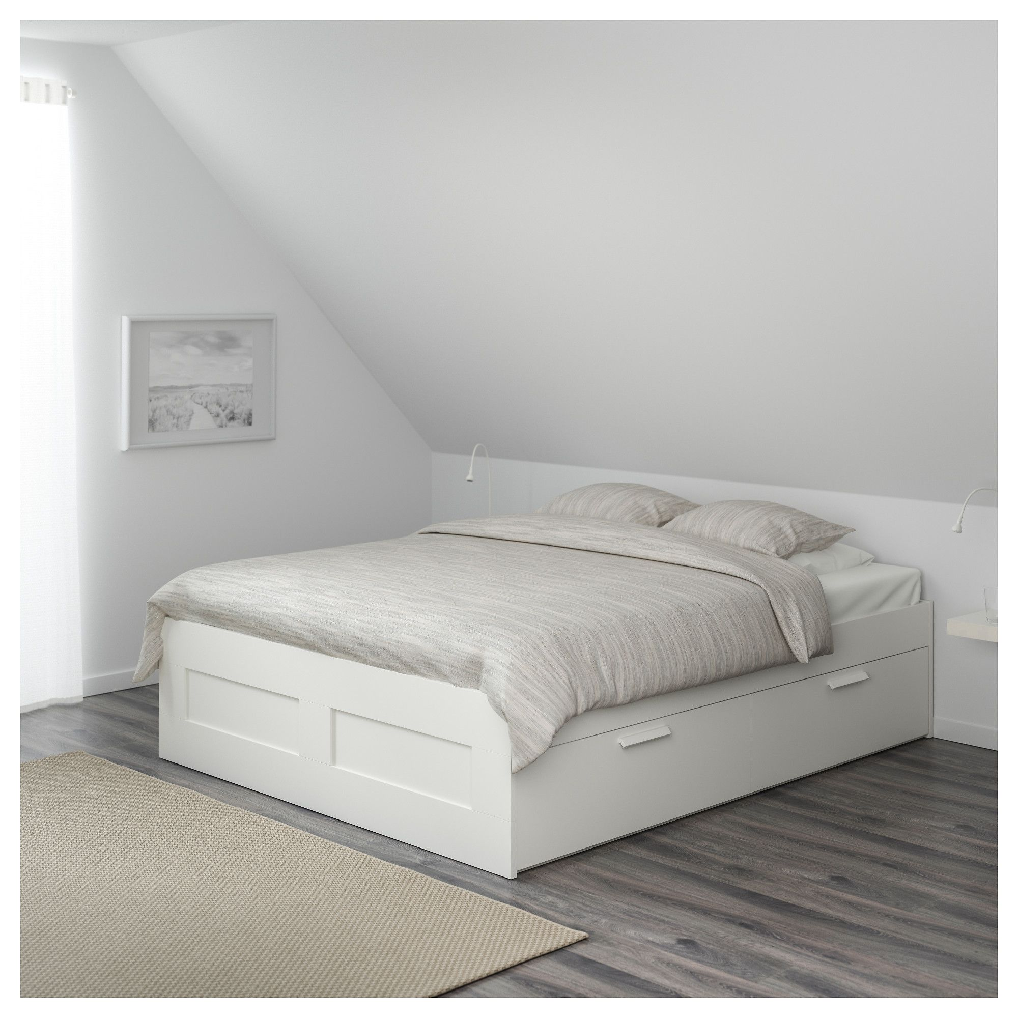 ikea brimnes bed frame with storage white bed frames storage