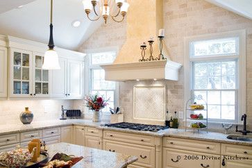 transitional possibility with this type color tile the use of