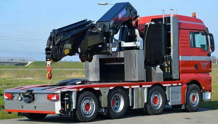 Man 8x2 Hmf 85200k6 Lier Vrachtwagens