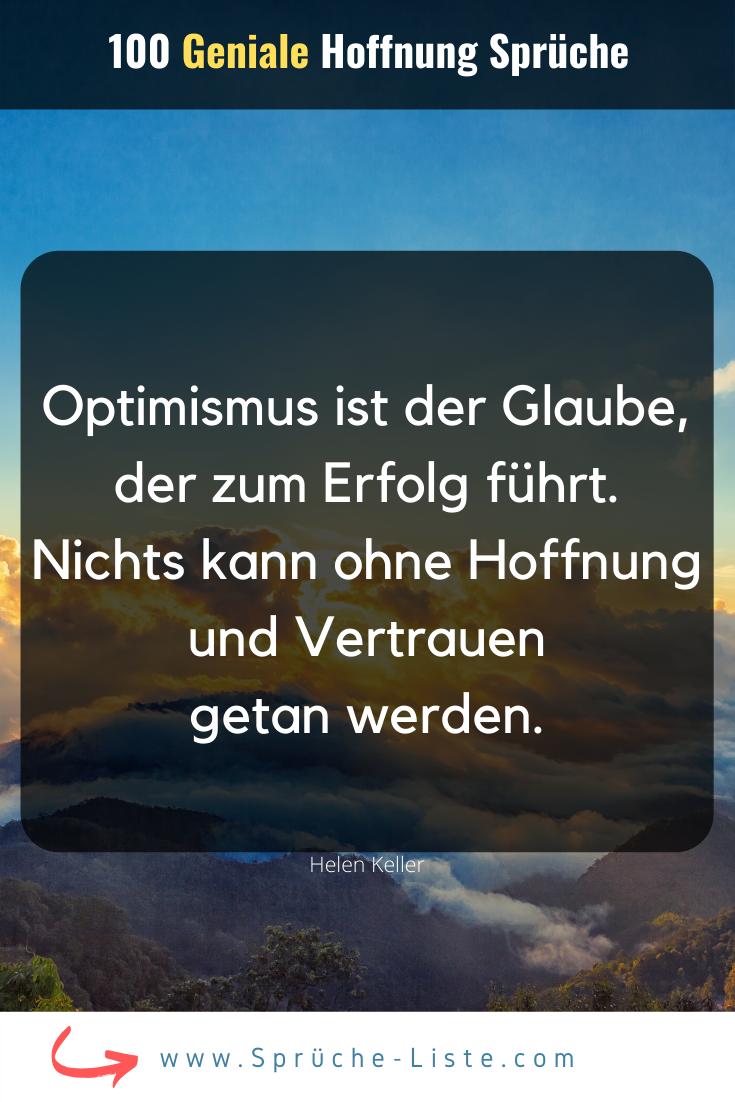 100 Geniale Hoffnung Sprüche | Hoffnung, Sprüche, Lustige ...
