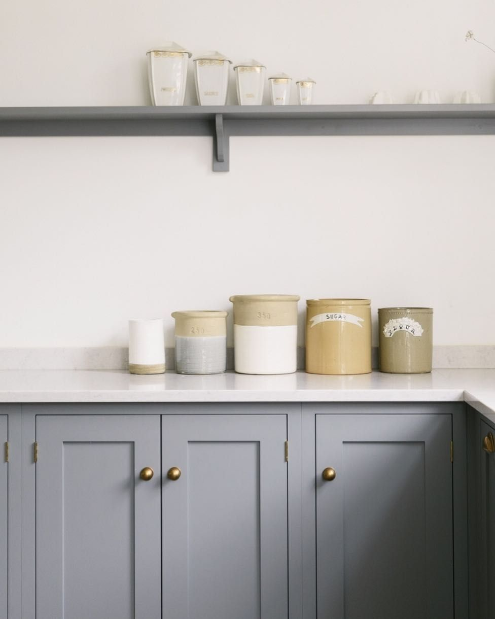 Simple wellmade cupboards designed and built here in england proof